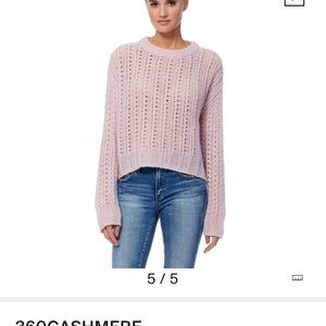 NWT 360 Cashmere June Sweater